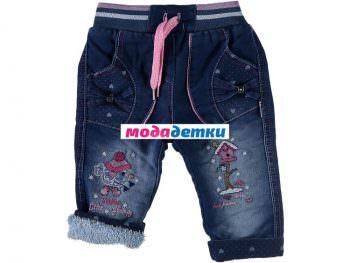 джинсы (махра) 6-9-12 мес